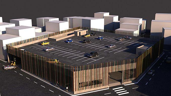 بورصة gursuya منطقة السوق الجديدة ومواقف السيارات القادمة