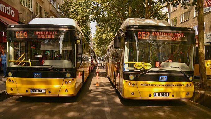 diyarbakirda martta transporte gratuito para mujeres