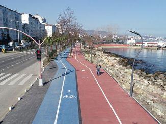 fatsa kosu e pista para bicicletas listas para o servizo