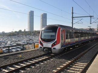 GEBZE звона открытие линии Marmaray Готова