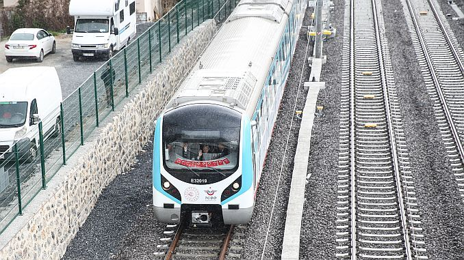 Die Linie Halkali gebze banliyo wurde angekündigt