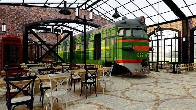 hamsu wagon καφενεία με το κέντρο του Bilecik να είναι ένα βήμα μπροστά