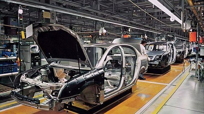 Exportlokomotive in der Automobilindustrie zurückgegangen