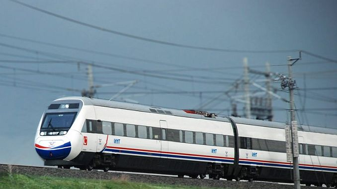 istanbul kapikule speed train project will be launched