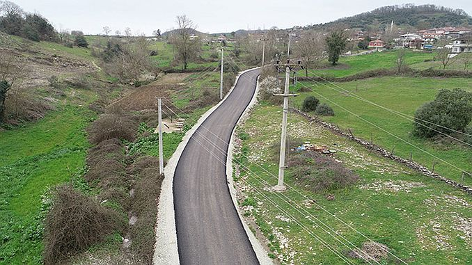Kandirada Bay caminos renovados