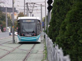 kurucesme tramvay hattina alt gecit geliyor