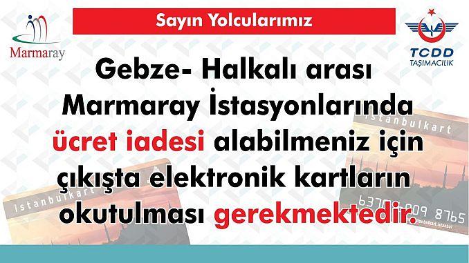 Lohnpunktwarnung von Marmara