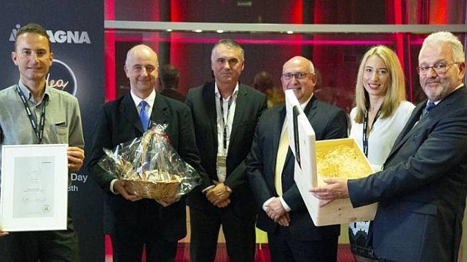 won the magna innovation room with ntn snr sensor bearing