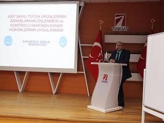 Sakarya province health training was given by Tuvasas staff