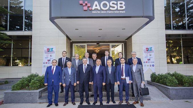 Βοηθός αντιπρόεδρος βιομηχανίας και τεχνολογίας Aosbyi επισκέφθηκε