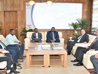 sudan railways delegation visited tcddyi