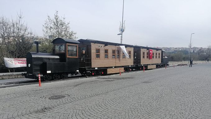 historic kagithane railway line comes to life