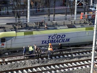 tcddden on the train rails