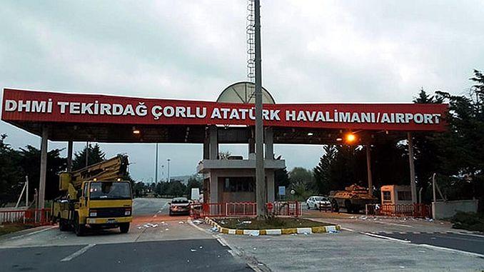 tekirdag corlu airport changed name