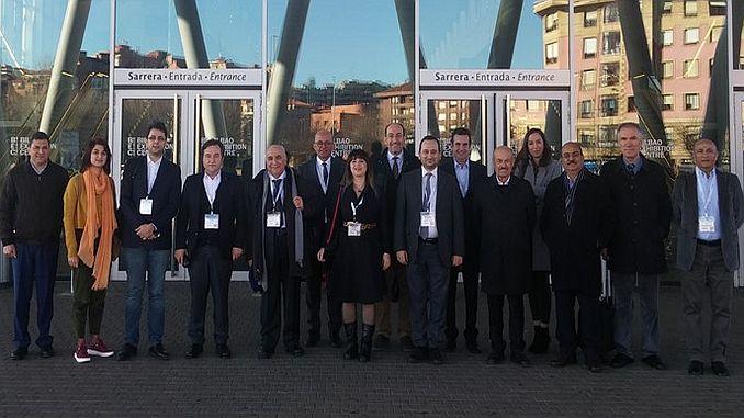 turkse spoorwegindustriëlen in het kader van het drangproject in spanje