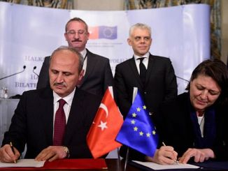 High-speed rail line will connect with the turkey EU countries