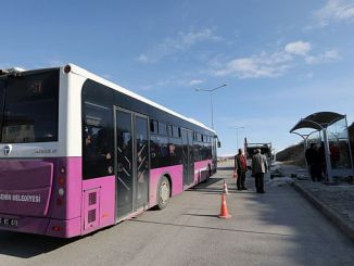 van buyuksehir municipality new bus stop established