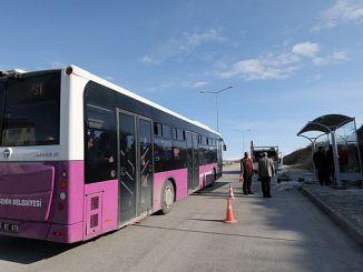 van buyuksehir municipality new bus stop established
