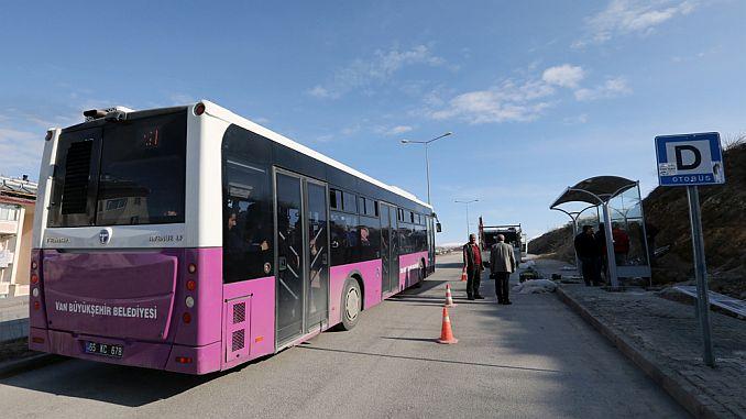 إنشاء محطة الحافلات الجديدة لبلدية فان بويوك شهير