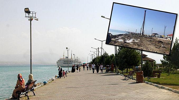 Ван цели побережье причал для публики вновь открыт