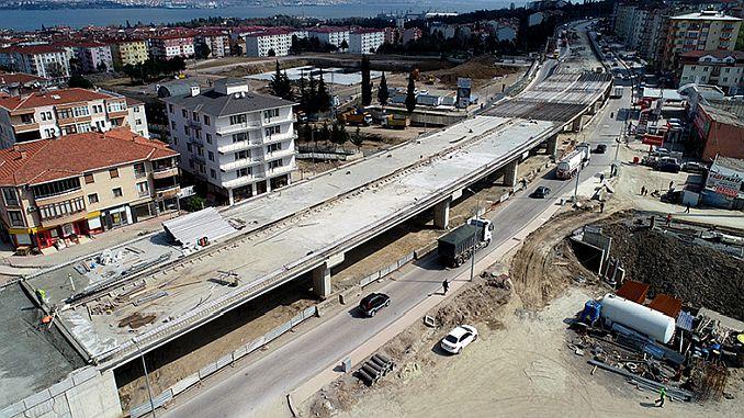 Yuzbasilar breaks the concrete in the breakthrough