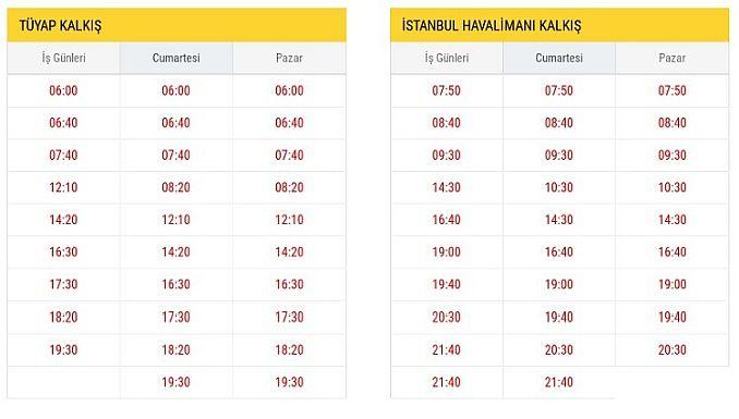 ST Tüyap Istanbul Airport Vertrek