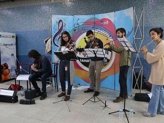 Ankara Metrolarinda Muzik Sesi Yukseliyor