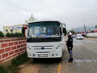 Alaşehir strenge controles op illegale TRANSPORT