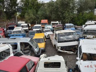ankara is collecting large scrap vehicles