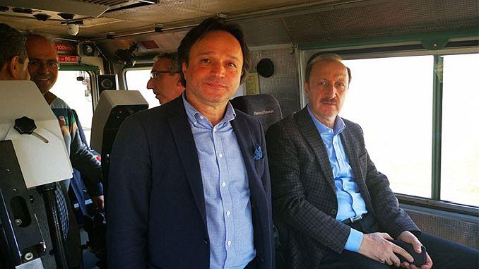 Η τελευταία κατάσταση στο έργο τρένων μεγάλης ταχύτητας της Άγκυρας sivas