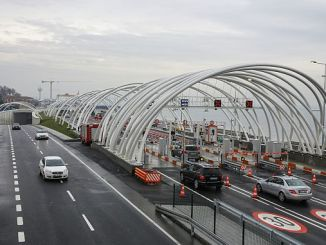 slechts miljoen voertuigen uit de Euraziatische tunel