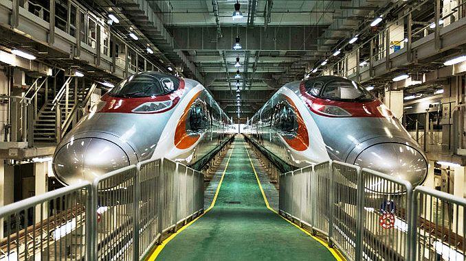 cinin ilk ozel hizli tren projesine milyar dolarlik finansman