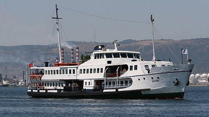 Seetransport für die Radtour des Präsidenten