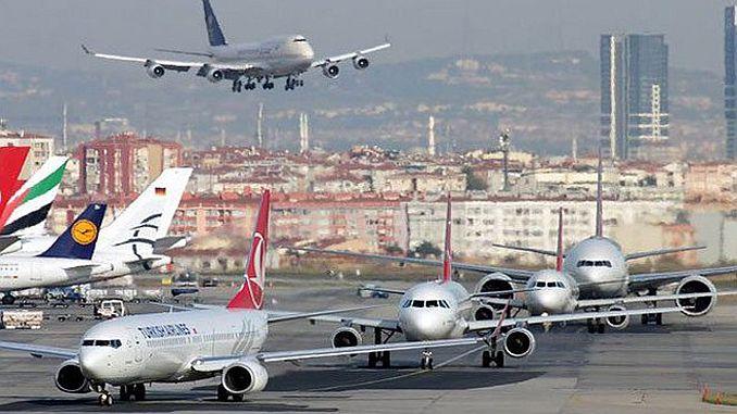dhmi ανακοινώνει τα τέλη Μαρτίου στατιστικά στοιχεία επιβατών και yuk