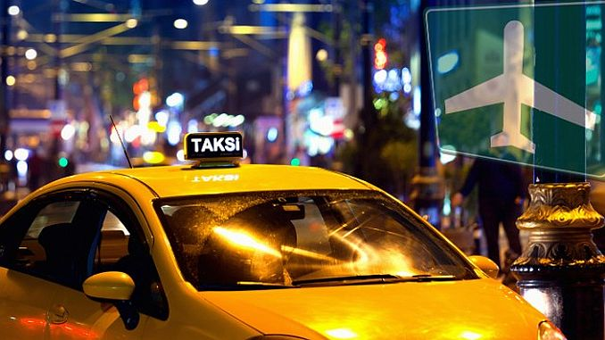 Istanbul Airport Taxi Rates Announced - RayHaber