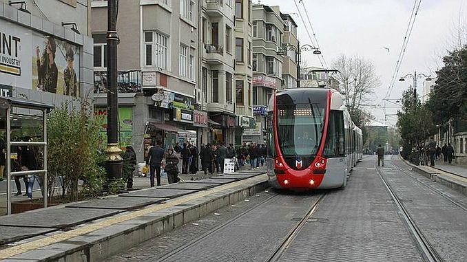 трамвайная линия Kabatas Bagcilar приземлится под землей
