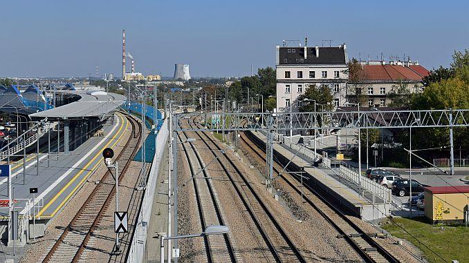 polen Belarus Eisenbahnlinie erfrischend