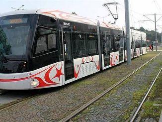 portugalis untersuchte samsunda-tramway-fahrzeuge