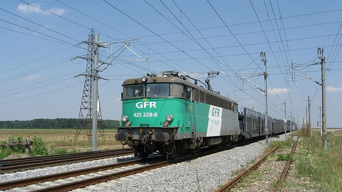 romania pieces electric locomotive array set will take
