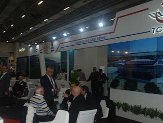 tcdd stand at eurasia rail fair