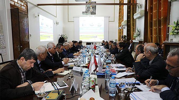 Los operadores de tcdd y tren ferroviario se reúnen en la reunión de excepción