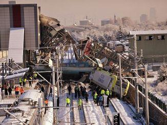 الانتهاء tcddnin أنقرة تقرير حادث القطار السريع