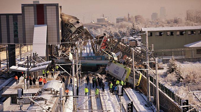завершено составление отчета о скором поезде в Анкаре