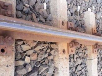 vías del tren en el área de Tracia