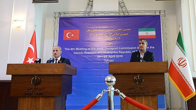 Transport između polje Iran Turska je potpisan Memorandum o razumijevanju
