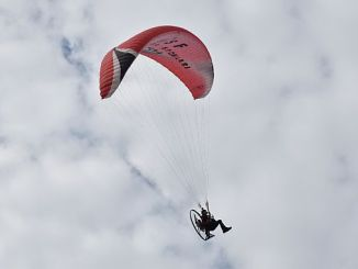 bursa turkey paramotor slalom competition will take place