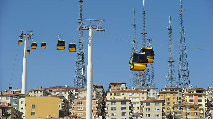 yenimahalle sentepe cable car