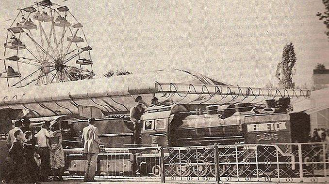 Анкара Генчлик Паркинда миниатюрный поезд