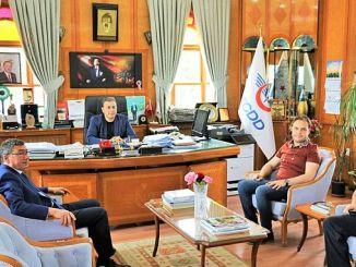 El presidente Gök'ten TCDD visita la estación histórica de Eğirdir