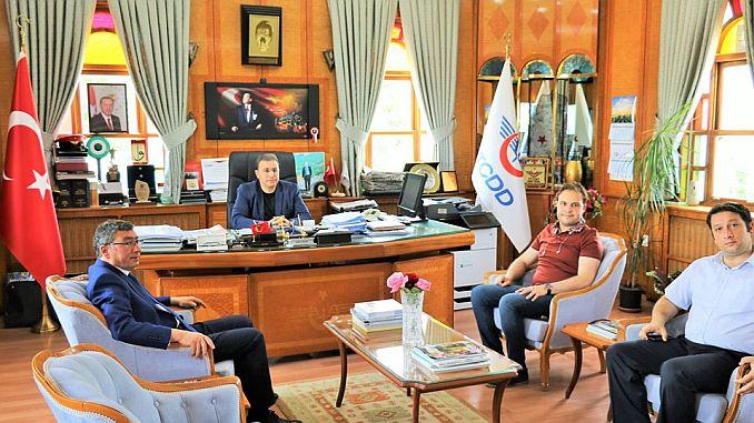 Präsident Gök'ten TCDD besucht die historische Eğirdir-Station